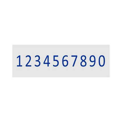 Нумератор ленточный 9мм, 10-ти разрядный, Shiny N-110, фото 2