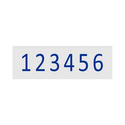 Нумератор стрічковий 15мм, 6-ти розрядний, Shiny N-A6, фото 2