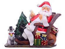 Статуэтка Lefard Санта 20 см 919-283 Дед Мороз новогодняя фигурка Санта Клаус