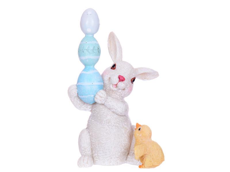 Статуэтка Lefard Пасхальный кролик 14,5 см 192-004
