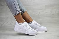 Кроссовки подростковые,женские белые Nike Air Force