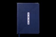 Щоденник датований 2020 MEANDER, А5, 336 стр., синій
