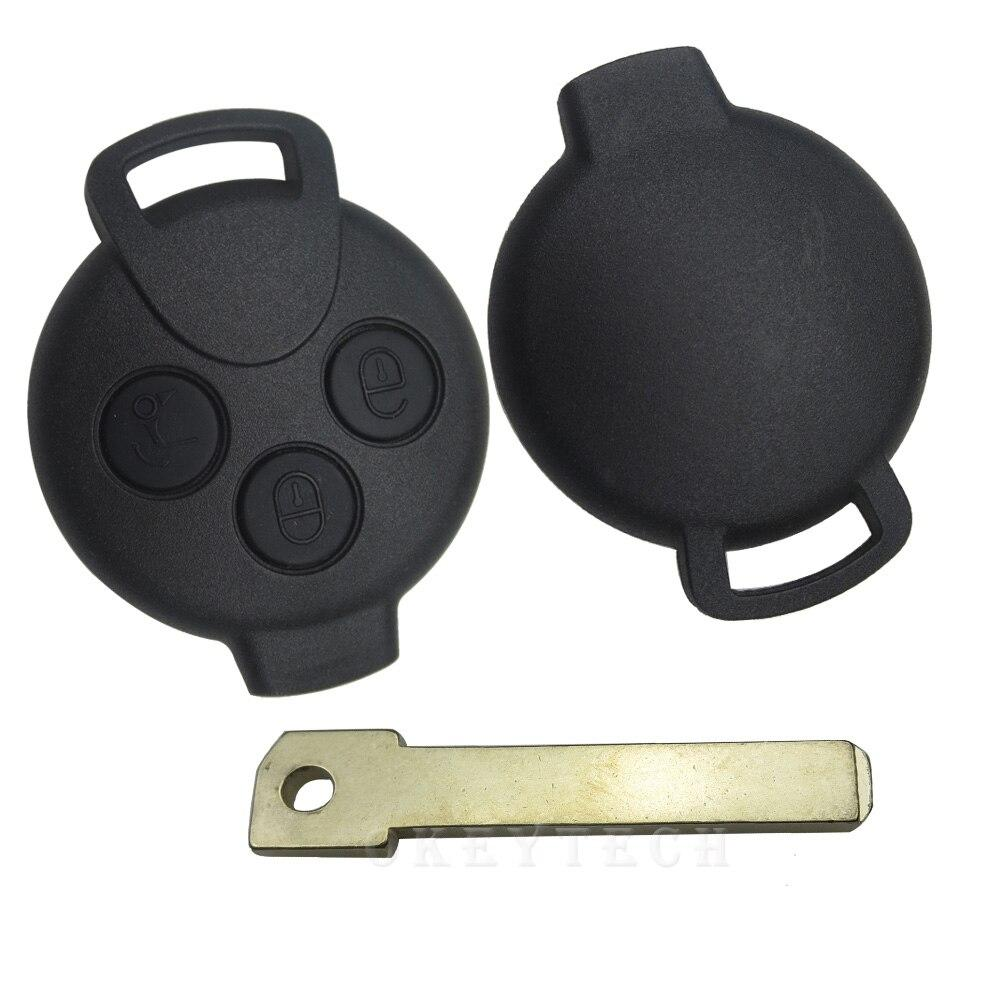 Корпус авто ключ  smart mercedes City,Rodster,Fortwo,Brabus 450 451 452