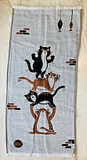 Льняные двухсторонние полотенца  35 х 70 см, фото 3