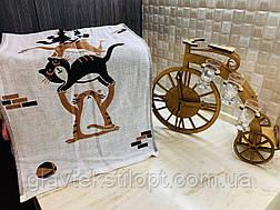 Льняные двухсторонние полотенца  35 х 70 см, фото 2
