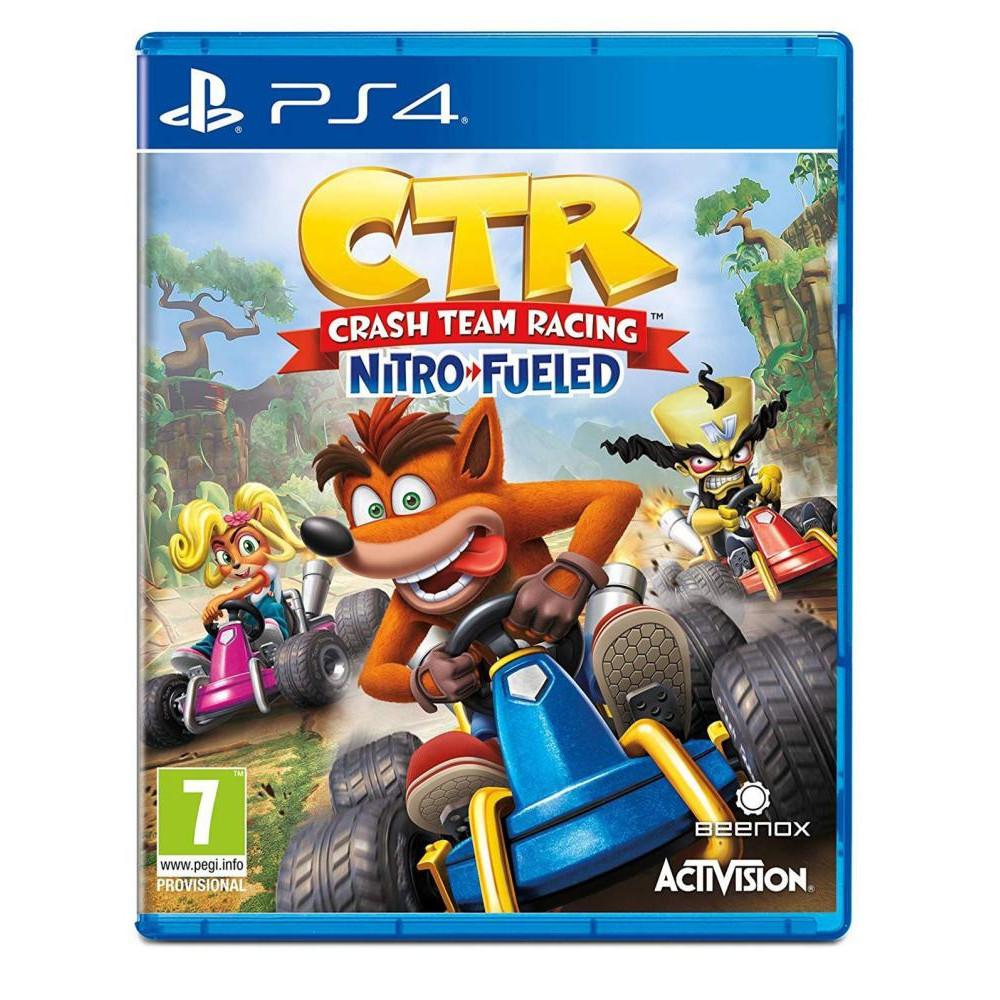 Crash Team Racing Nitro-Fueled [PS4, английская версия]