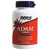 Мультивитамины для мужчин Now Foods ADAM (60 таблеток)