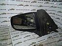 Зеркало заднего вида левое Mazda 323 BJ 1997-2002г.в. хетчбек синее, фото 2
