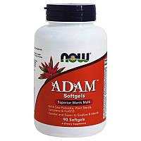 Мультивитамины для мужчин Now Foods ADAM (90 софтгель), фото 1