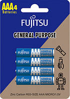 Сольова батарейка FUJITSU 4шт