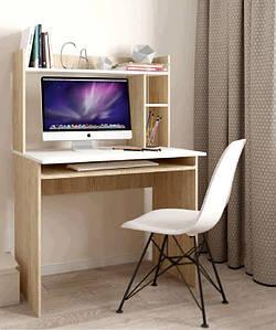 Стол письменный с надстройкой Люкс 2
