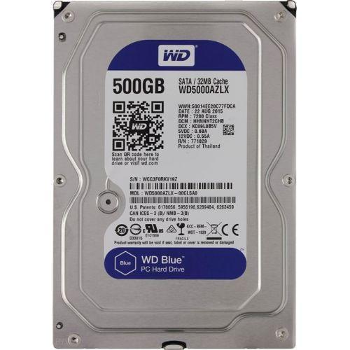 Жесткий диск HDD винчестер 500 ГБ SATA 3.5 WD 16MB 7.2k