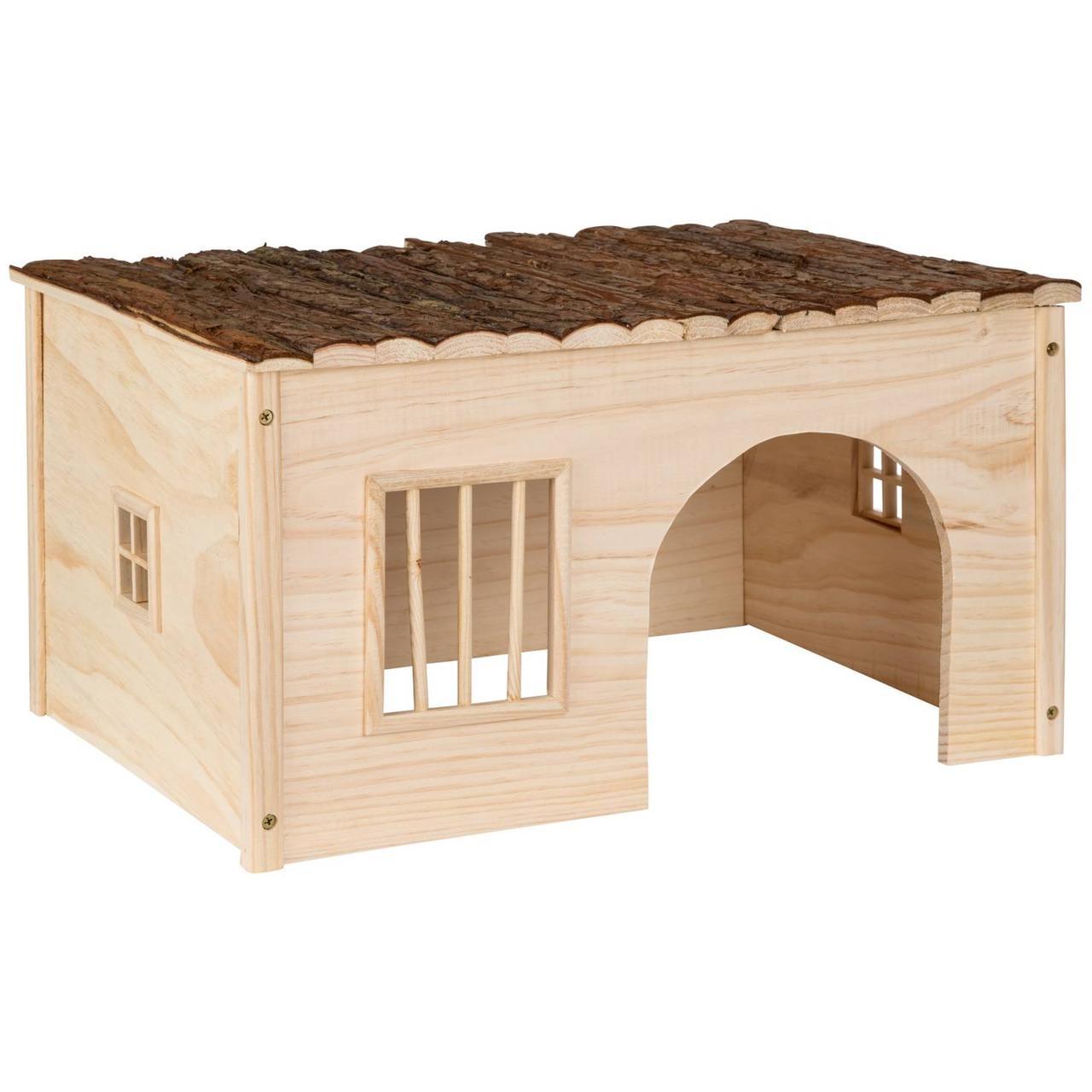 Будиночок для гризунів (з деревини) (в асортименті)