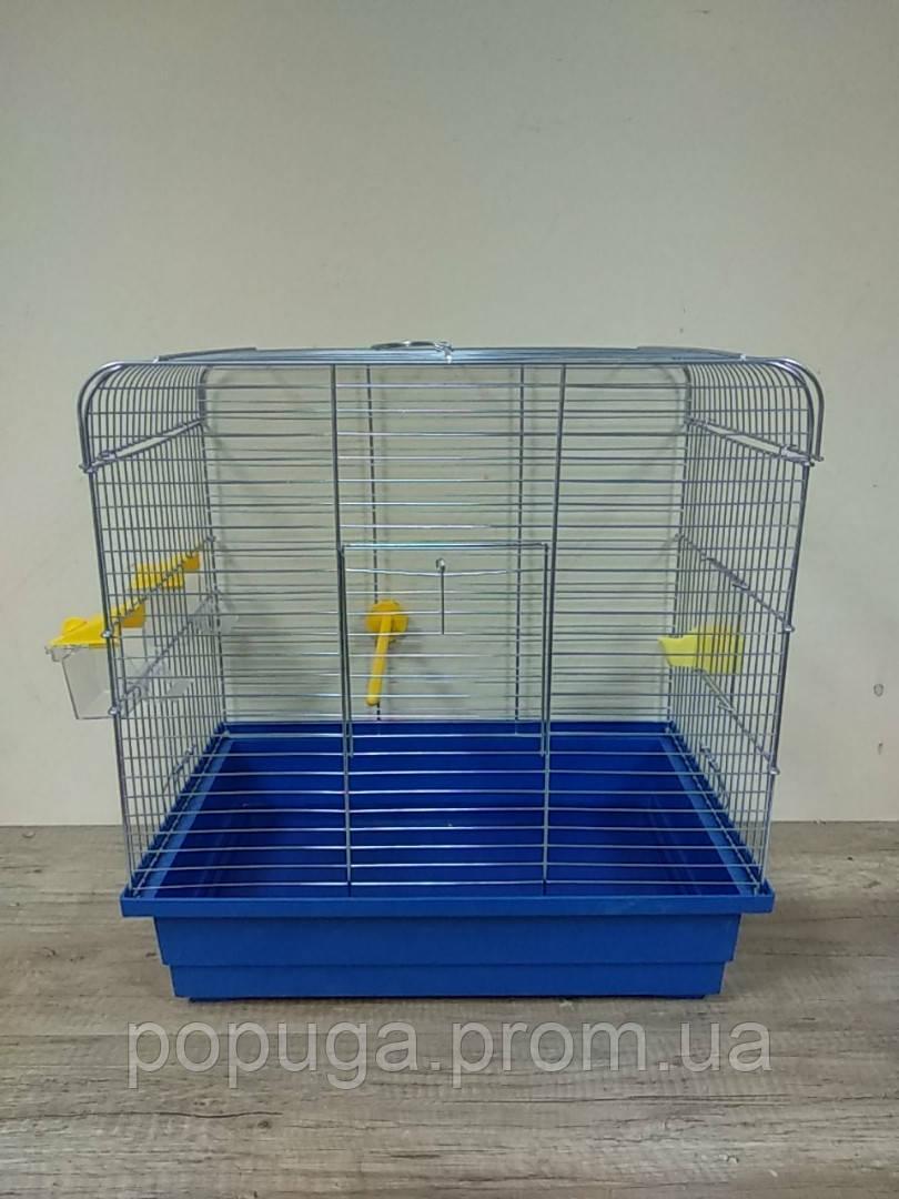 """Клетка для птиц """"Инесса"""" цынк 48*31*51см"""
