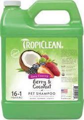 Шампунь для собак и кошек TropiClean Berry&Coconut 3.8 л ягода/кокос (TRBESH1G)