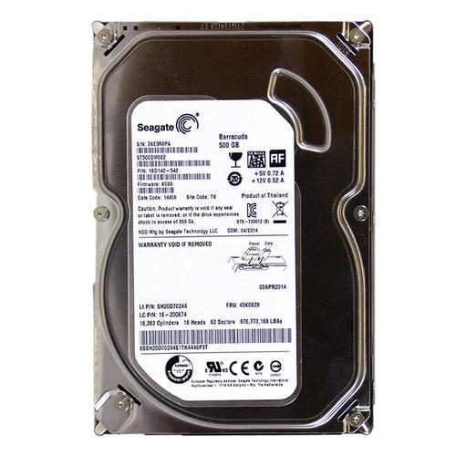 Жесткий диск HDD винчестер 500 ГБ SATA 3.5 16MB  опт