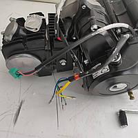 Двигатель для детского квадроцикла 125 (АКПП 1 передача вперед и 1 назад, + стартер + карбюратор