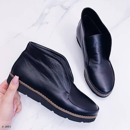 Кожаные ботинки осень, фото 2