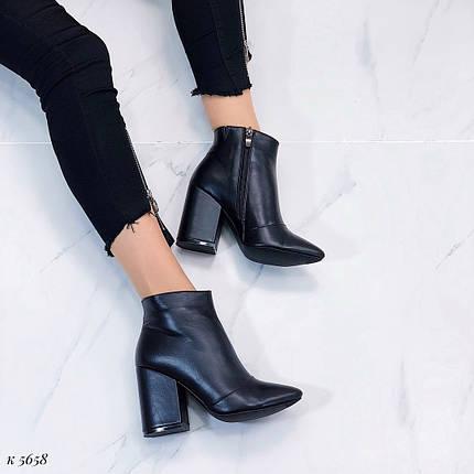 Кожаные ботинки весна, фото 2