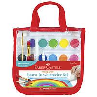 Faber-Castell Набор для творчества с акварельными красками для начинающих Learn to Watercolor Set