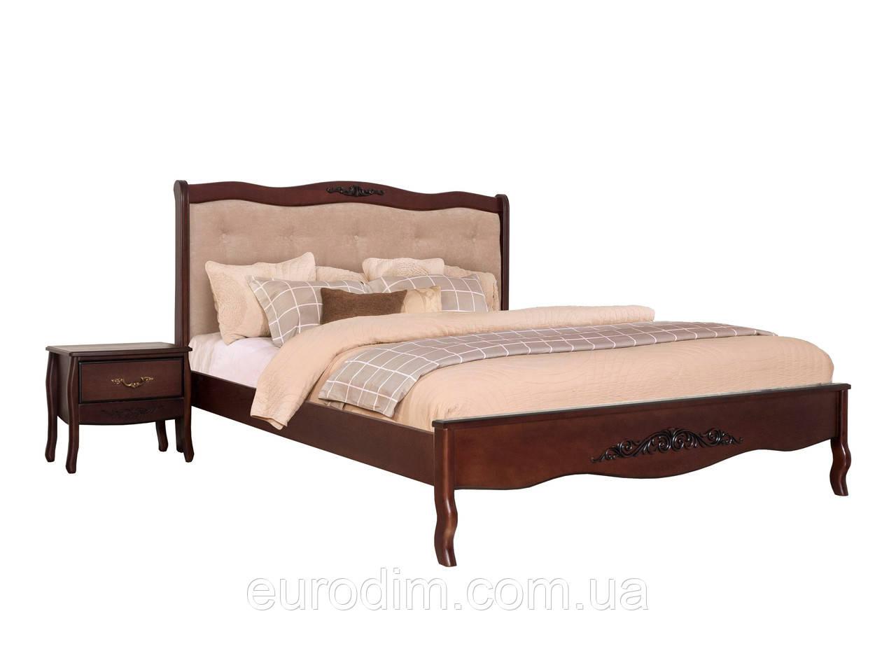 Кровать Александрия 140*200 Орех