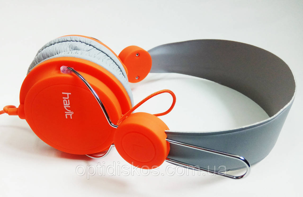 Гарнитура мобильная HAVIT  HV-H2198d, оранжевая