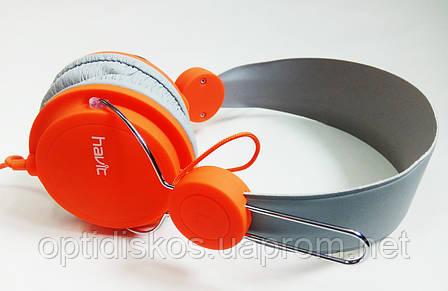 Гарнитура мобильная HAVIT  HV-H2198d, оранжевая, фото 2