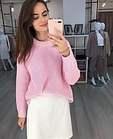 Модный вязаный женский свитер, BK - 22, фото 1