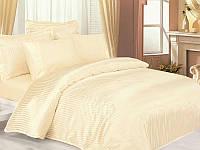 Комплект постільної білизни Le Vele Jakaranda Cream Silk Satin 220-200 см