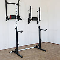 Лавка регульована (до 200 кг) + Стійки під штангу з страховкою (до 200 кг), фото 8