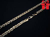 """🔥✅Цепочка """"Бисмарк"""" толстая 60 см * 6 мм . Позолота 18 К Xuping, медицинское золото, ювелирная бижутерия"""