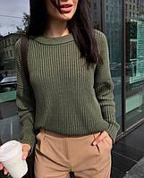 Модний жіночий в'язаний светр, BK - 23, фото 1