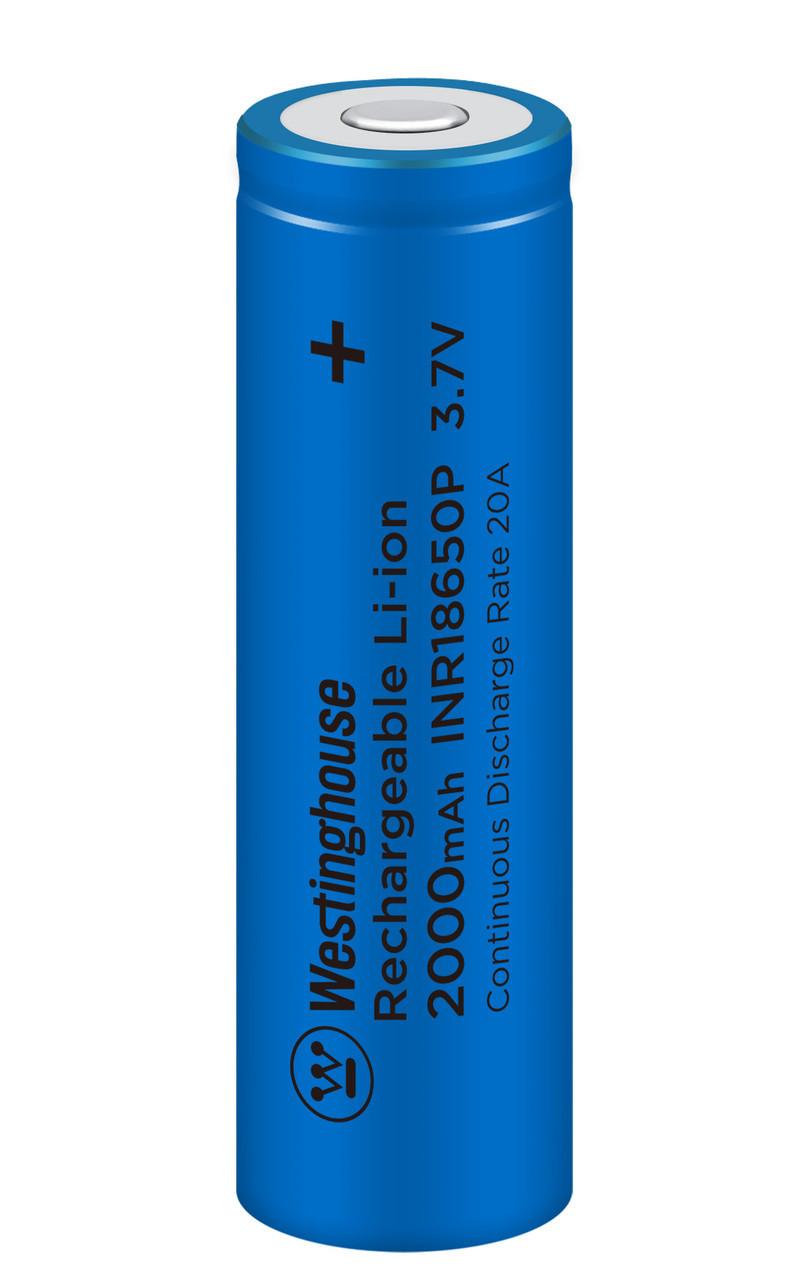 Аккумулятор высокотоковый литий-ионный Westinghouse 2000mAh 1шт