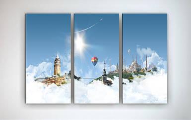 Модульная картина на холсте Город