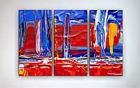 Модульная картина на холсте Краска