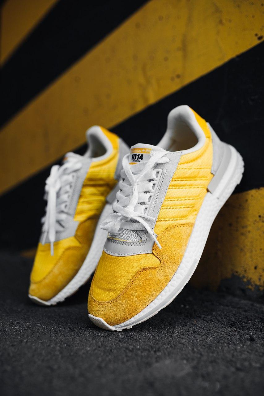 Мужские желтые Кроссовки Adidas ZX 500 RM Commonwealth