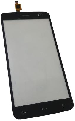 Сенсорный экран (тачскрин) для телефона DOOGEE HomTom HT17, Ergo A551, черный
