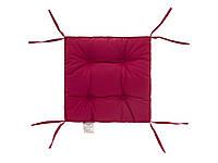 Подушка на стул лиловая 40х40 см DOTINEM COLOR