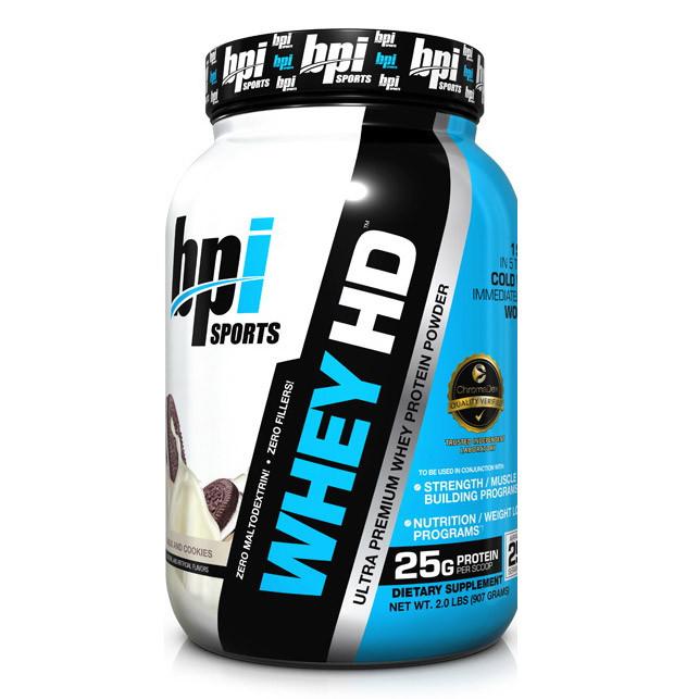 Протеин Изолят Whey HD (907 g,) BPI sports