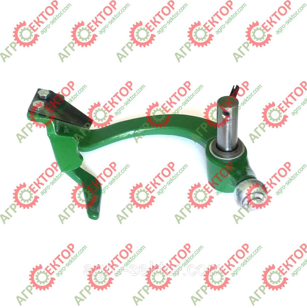 Ричаг ножа в'язального апарату в зборі новый тип 16мм на прес-підбирач John Deere AE39974 DC18315+DC18239