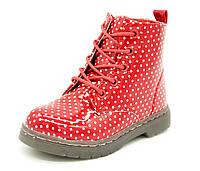 Демисезонные ботинки для девочки Kimbo Размеры: 23, 25