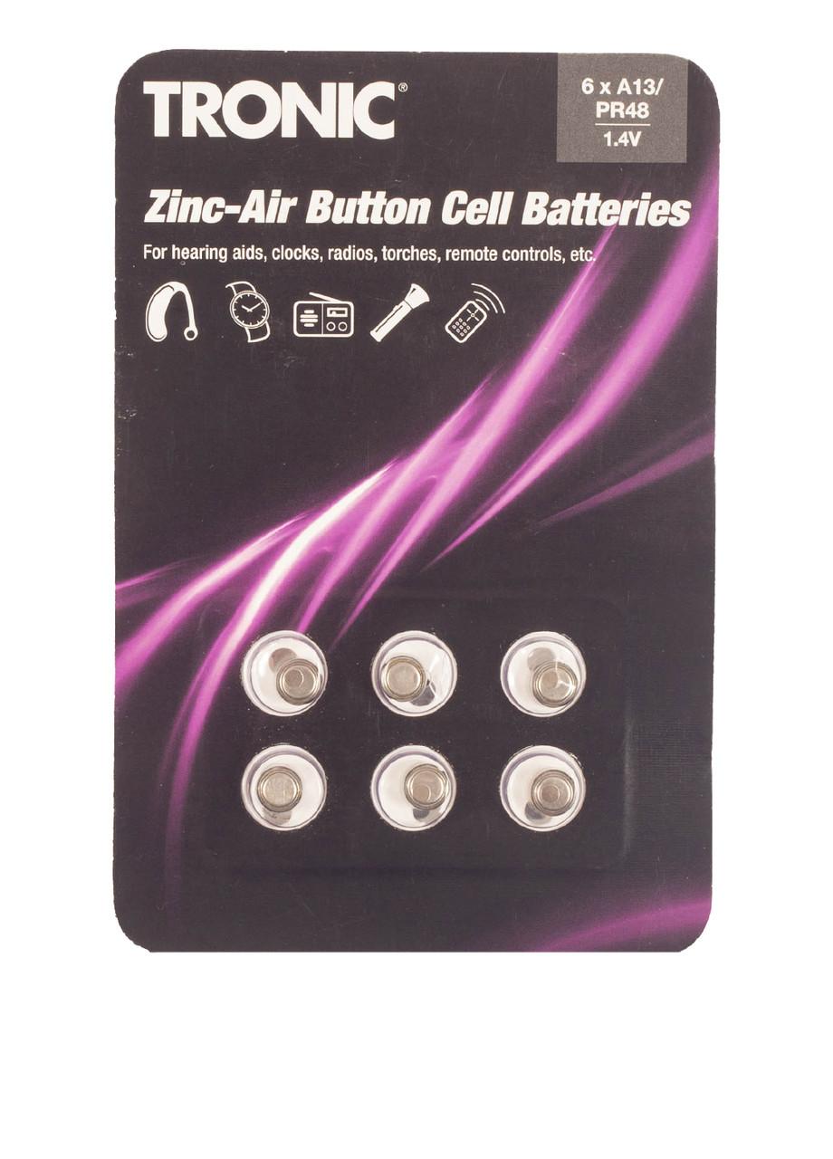 Батарейки Tronic PR48/A13 1.4V