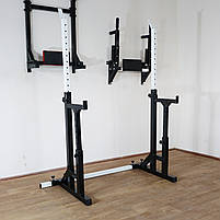 Лавка регульована (до 250 кг) + Стійки під штангу з страховкою (до 200 кг), фото 8