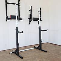 Лавка регульована (до 250 кг) + Стійки під штангу з страховкою (до 200 кг), фото 10