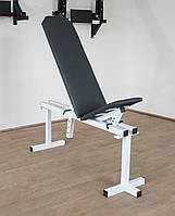 Лавка регульована (до 250 кг) + Стійки під штангу з страховкою (до 250 кг), фото 6