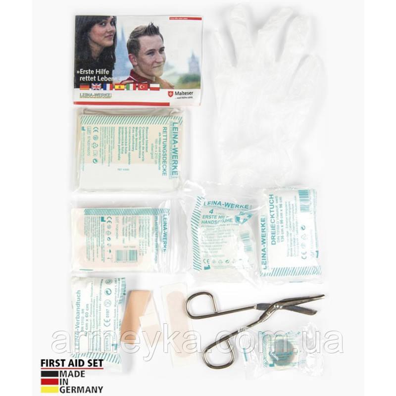 Аптечка первой помощи, 25 предметов. Германия Leina-Werke GmbH