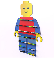 Большая детская полка LEGO COBI