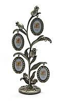 Фоторамка Семейное дерево 5 фото Цветок