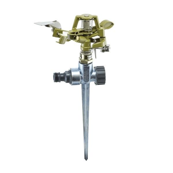 Дождеватель Presto-PS ороситель импульсный для газона металлический 8105D