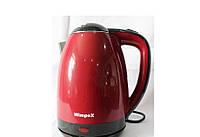 Электрочайник WIMPEX WX 2833 (2L), Чайник 1850W Black, Электрический чайник